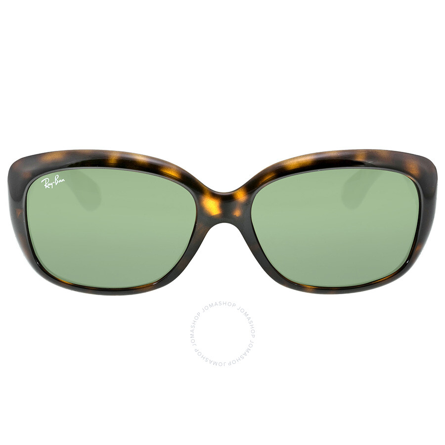 7107513cf35 Ray Ban Jackie OHH Green Classic G-15 Round Ladies Sunglasses RB4101 710  58- ...
