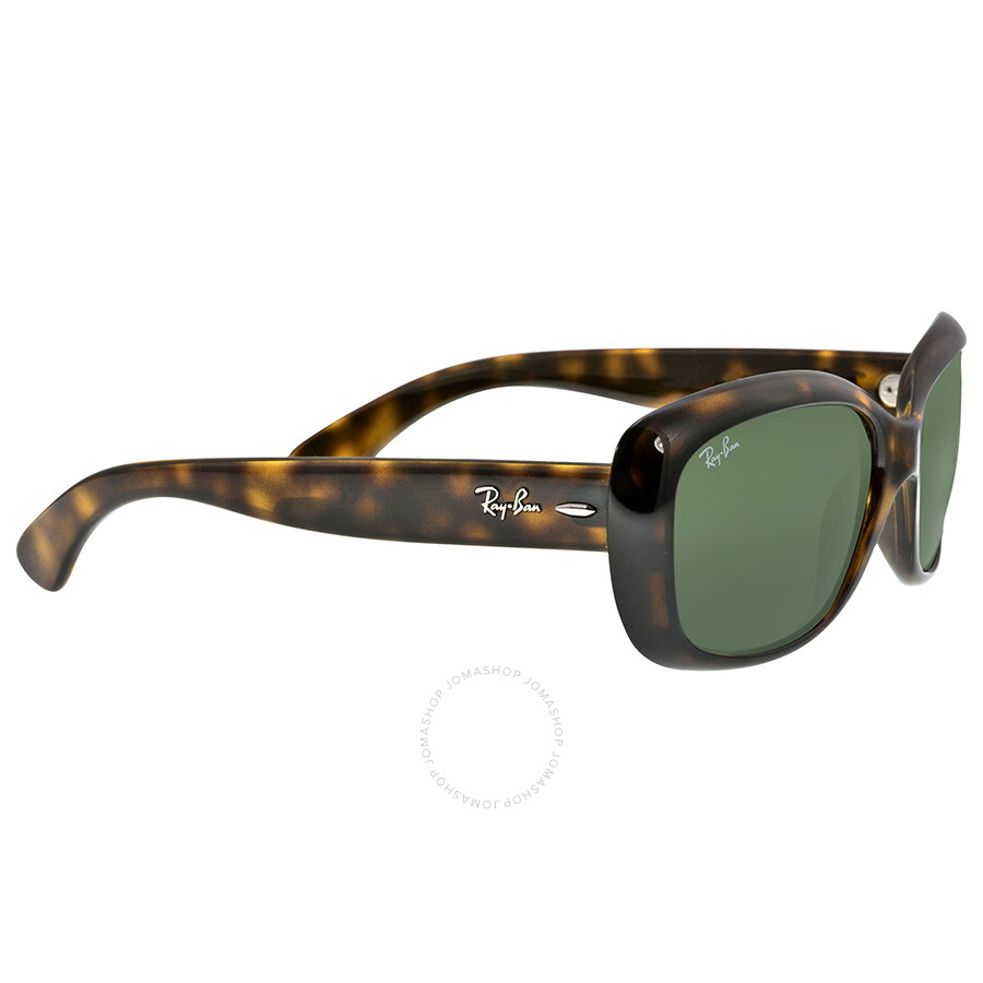bbc49b9098 ... Ray Ban Jackie OHH Green Classic G-15 Round Ladies Sunglasses RB4101 710  58- ...