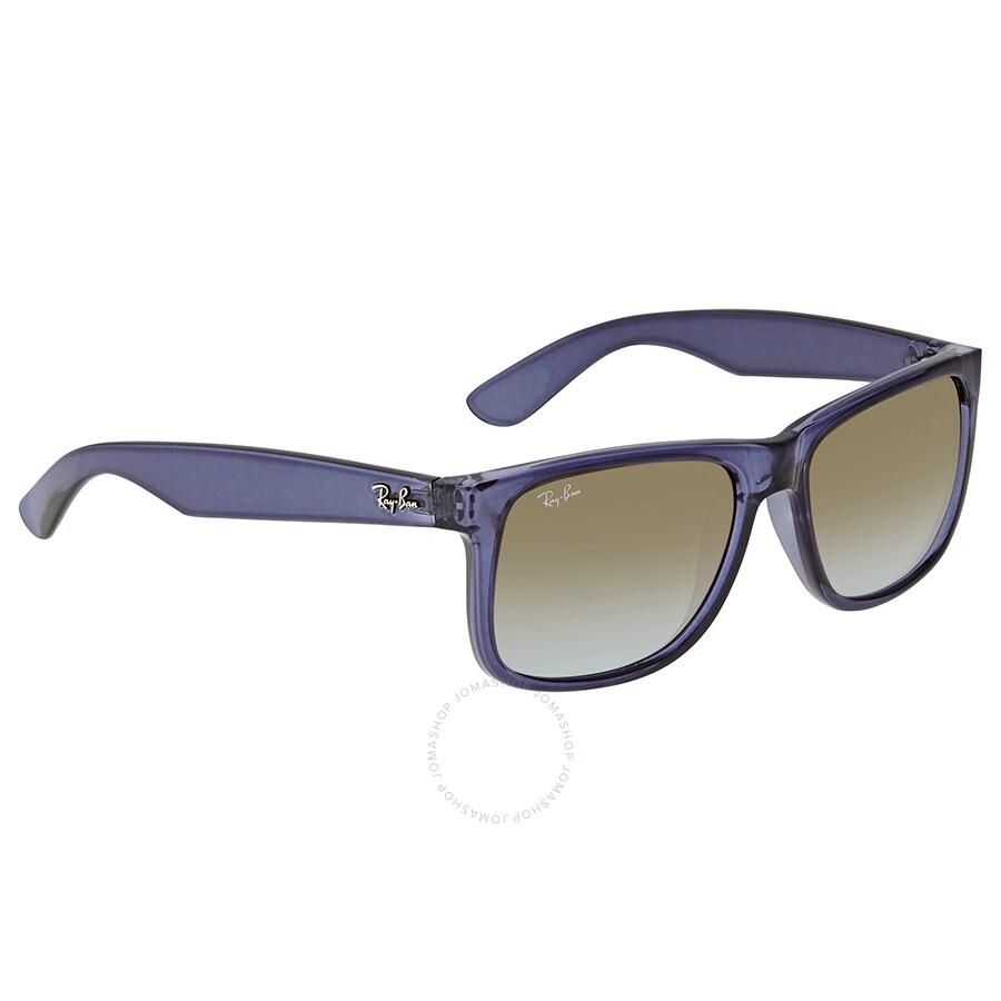7365aa1f9504 RayBan Justin Flash Gradient Lenses Green Gradient Mirror Sunglasses RB4165  6341T0 55 ...