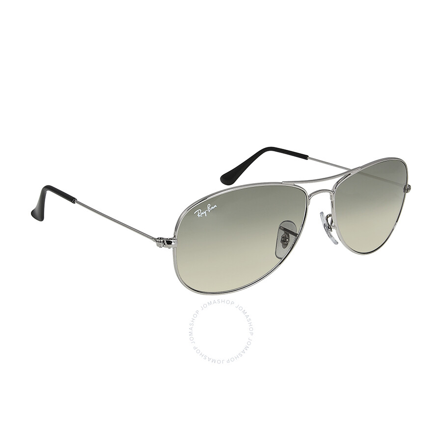 ray ban new classic aviator sunglasses  rayban new classic aviator gradient smoke unisex sunglasses 3362 00332 52