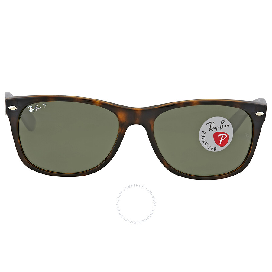 0d87db4bee Ray-Ban New Wayfarer Classic Polarized Tortoise Sunglasses ...