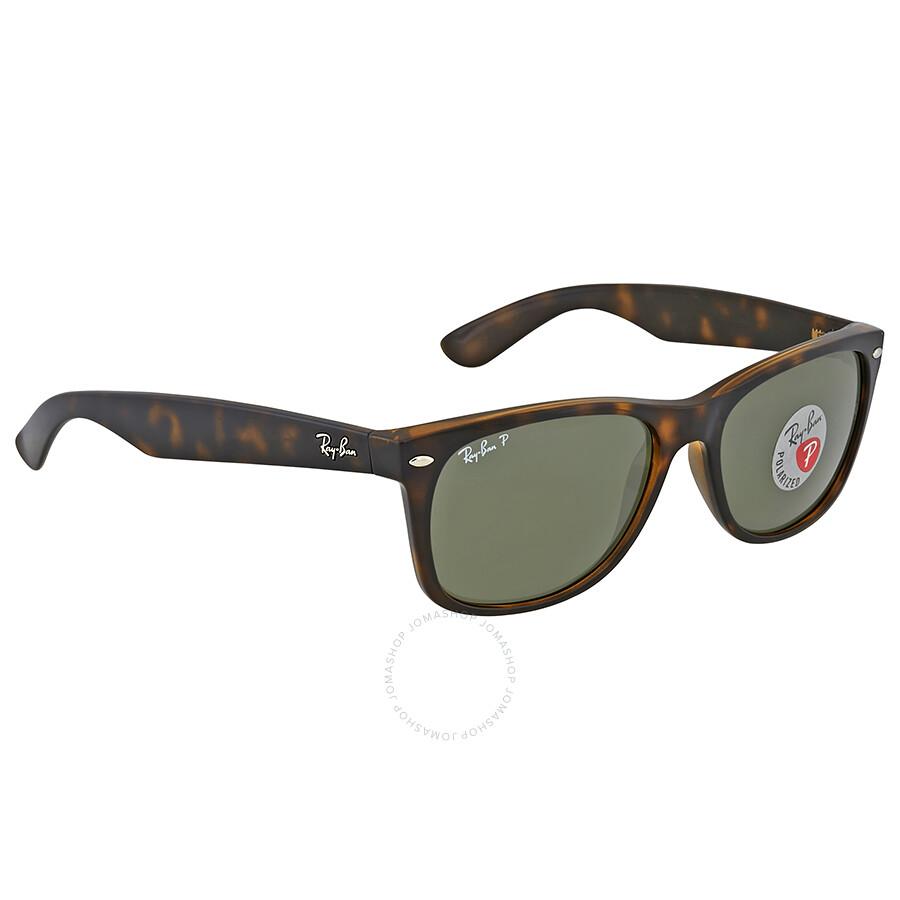 5db18a196f Ray-Ban New Wayfarer Classic Polarized Tortoise Sunglasses ...