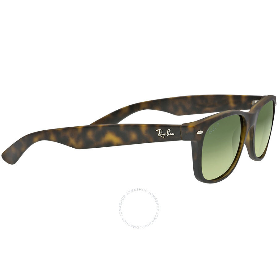 ray ban new wayfarer havana blue green 55mm polarized sunglasses rb2132 89476 55 wayfarer. Black Bedroom Furniture Sets. Home Design Ideas