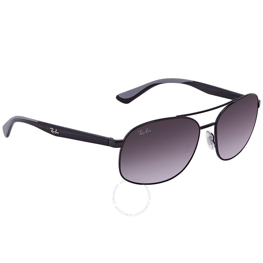 3ff9365b61b5 RayBan RB3593 Grey Gradient Square Sunglasses - Square - Ray-Ban ...