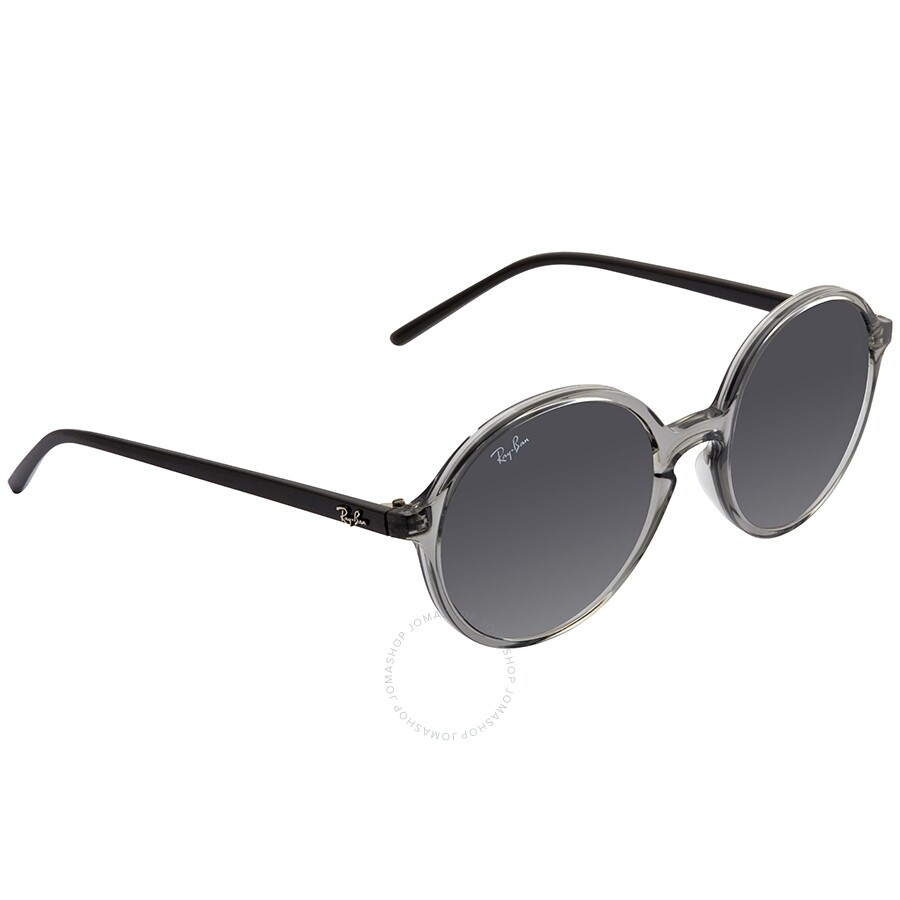 97fd80e7e Ray Ban RayBan RB4304 Round Transparent Dark Grey Sunglasses RB4304 Item  No. RB4304 64368753