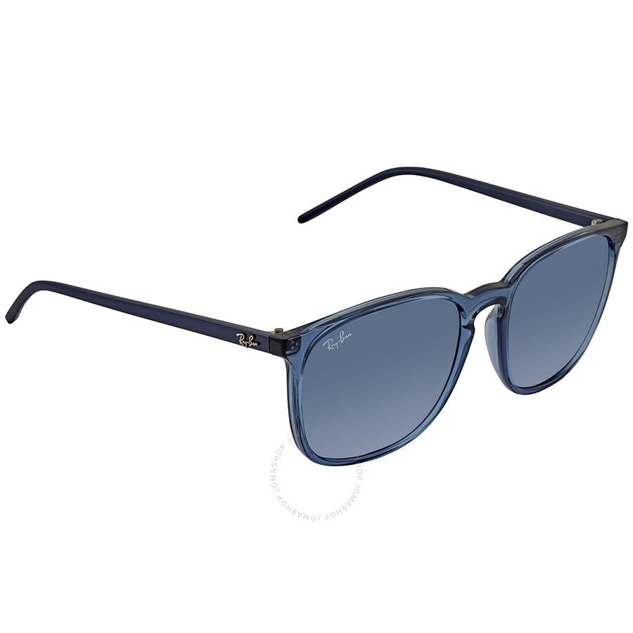 89de7fee62e6 RayBan RB4387 Square Blue Classic Sunglasses RB438763998056 - Square ...
