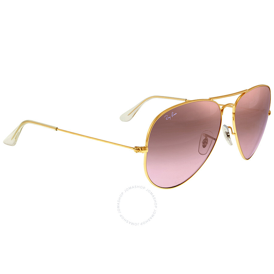 7d3152d26e ... Ray-Ban Silver Pink Mirror 62 mm Sunglasses RB3025 001 3E 62 ...