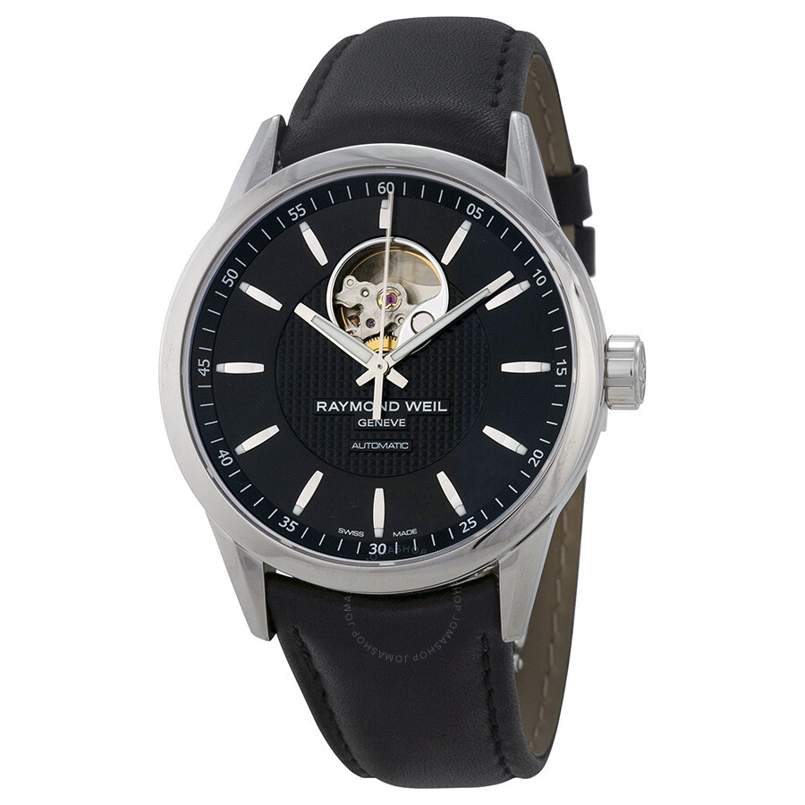 Raymond Weil Freelancer Automatic Balance Wheel Men's Watch 2710-STC-20021  ...