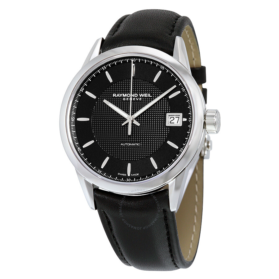 Raymond Weil Freelancer Automatic Black Dial Men's Watch 2740-STC-20021 ...