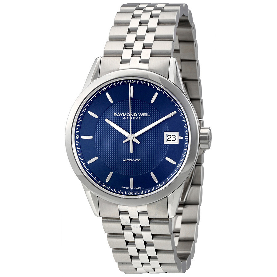 Raymond Weil Freelancer Automatic Blue Dial Men's Watch 2740-ST-50021 ...