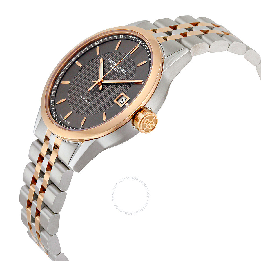 ... Raymond Weil Freelancer Automatic Grey Dial Men's Watch 2740-SP5-60021  ...