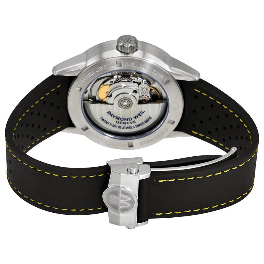 ... Raymond Weil Freelancer Black Dial Automatic Men's Watch 2754-SR-05200