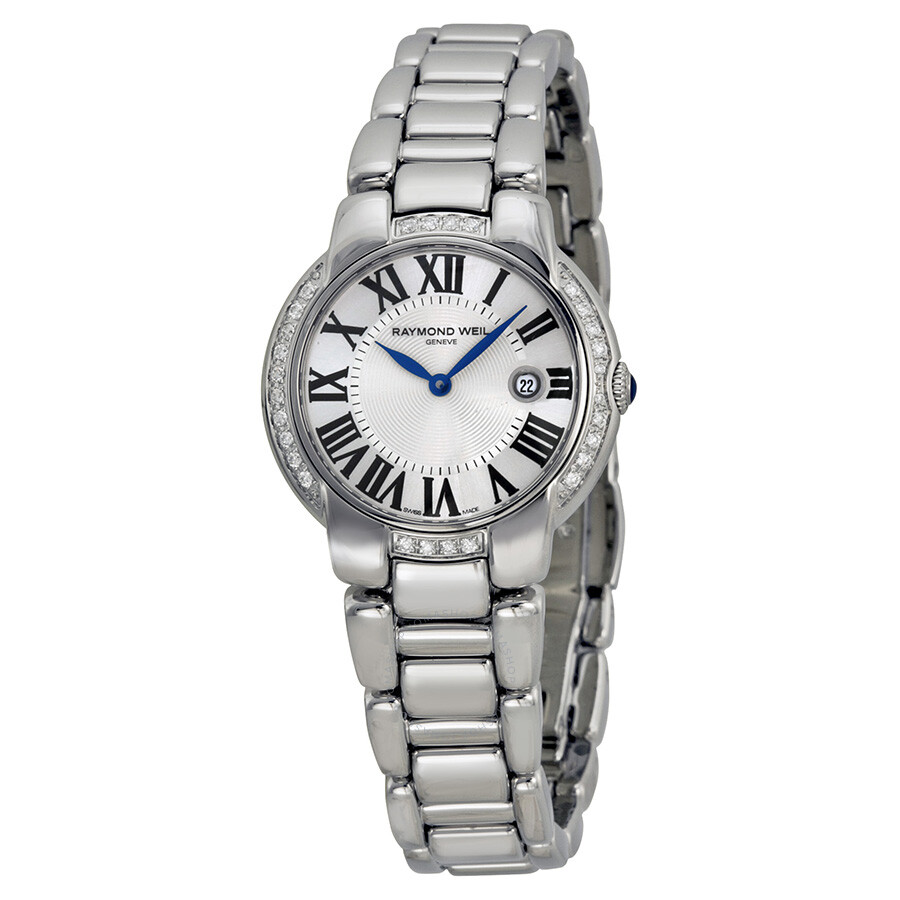 Raymond weil jasmine diamond silver dial ladies watch 5229 sts 00659 jasmine raymond weil for Raymond weil watch