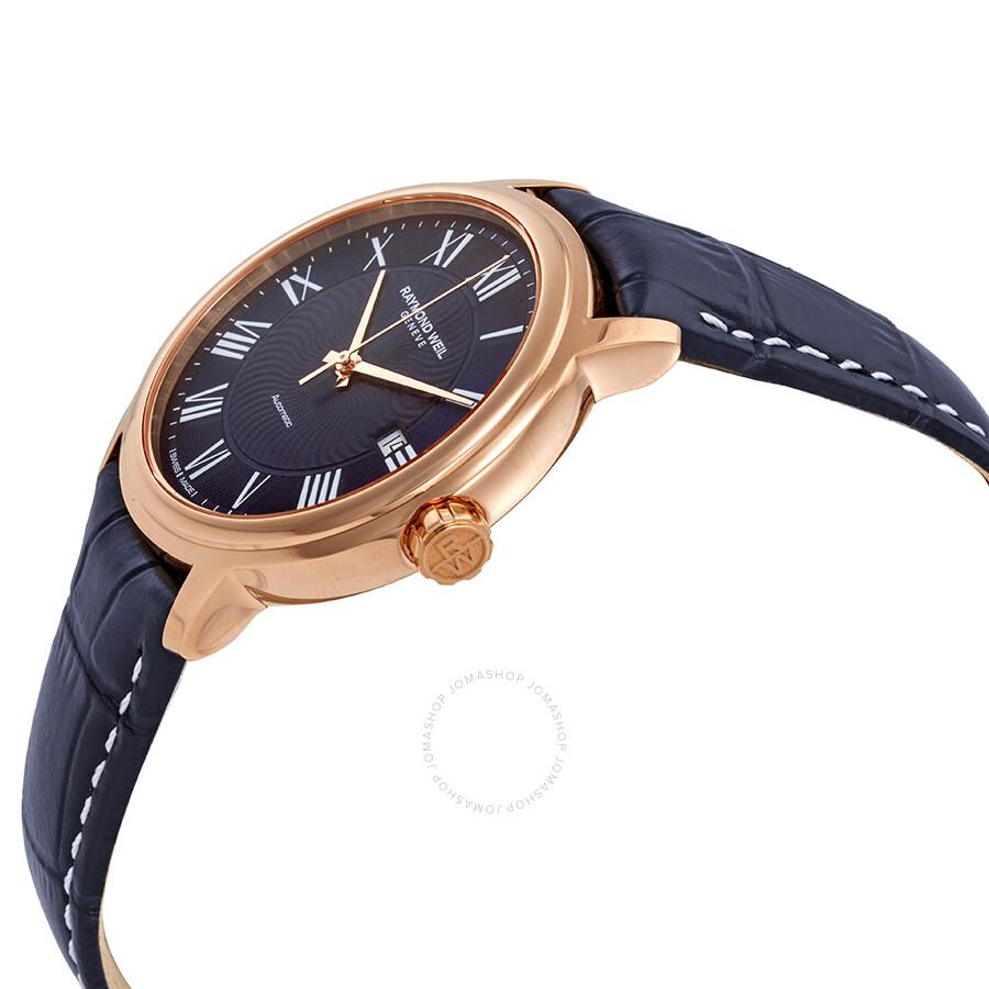 6525faae0 ... Raymond Weil Maestro Automatic Blue Dial Men's Watch 2237-PC5-00508 ...