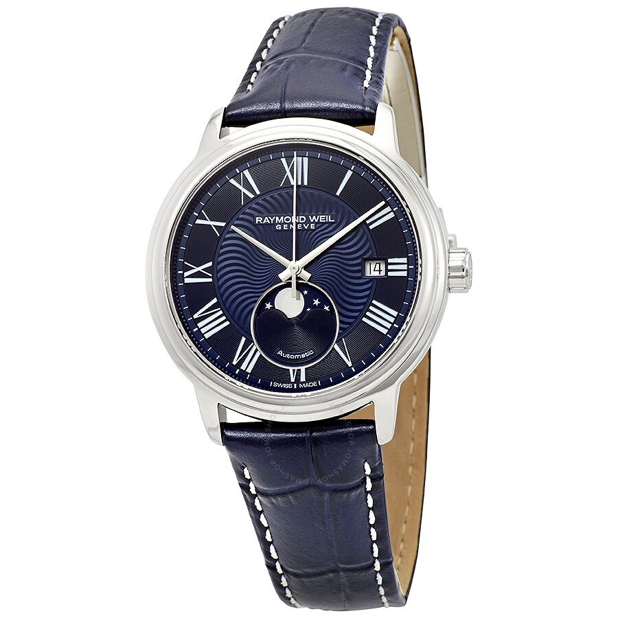 a5544757523 Raymond Weil Maestro Automatic Blue Dial Men s Watch Item No. 2239-STC-00509