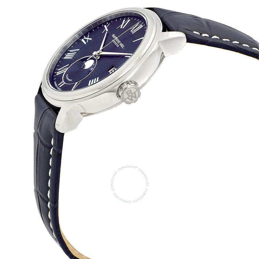 4146a1d7f4c ... Raymond Weil Maestro Automatic Blue Dial Men s Watch 2239-STC-00509 ...