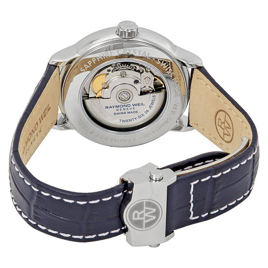 20812878efc Raymond Weil Maestro Automatic Blue Dial Men s Watch 2239-STC-00509 ...