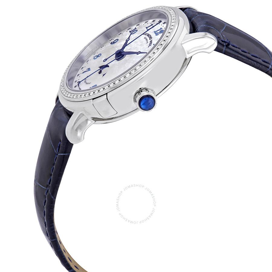 be05405a1 ... Raymond Weil Maestro Automatic Diamond Ladies Watch 2739-LS3-05909 ...