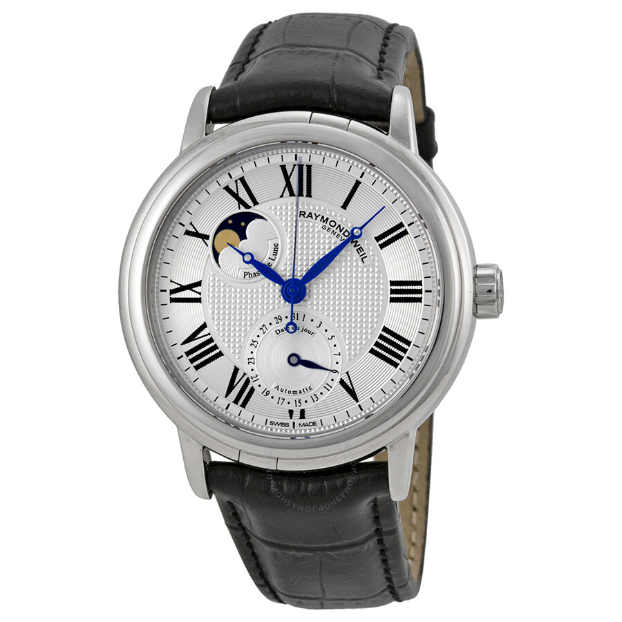 Raymond weil maestro automatic moon phase men 39 s watch 2839 stc 00659 maestro raymond weil for Raymond weil watch