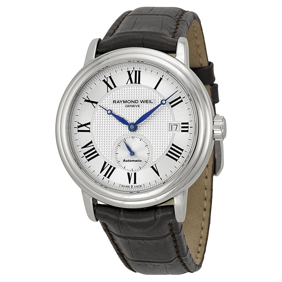 raymond weil maestro automatic silver dial men 39 s watch 2838 stc 00659 maestro raymond weil