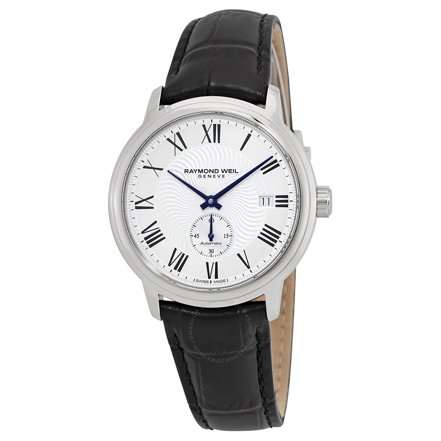 Raymond Weil Maestro Automatic Silver Dial Men's Watch 2238-STC-00659 ...