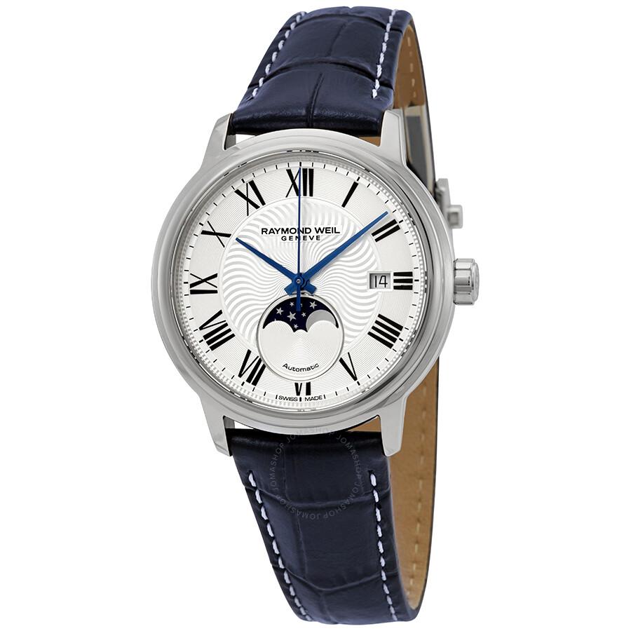 0ffc61521 Raymond Weil Maestro Automatic Silver Dial Men's Watch 2239-STC-00659 ...