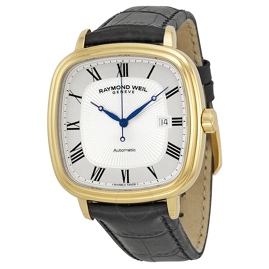Raymond weil maestro automatic silver dial men 39 s watch 2867 pc 00659 maestro raymond weil for Raymond weil watch