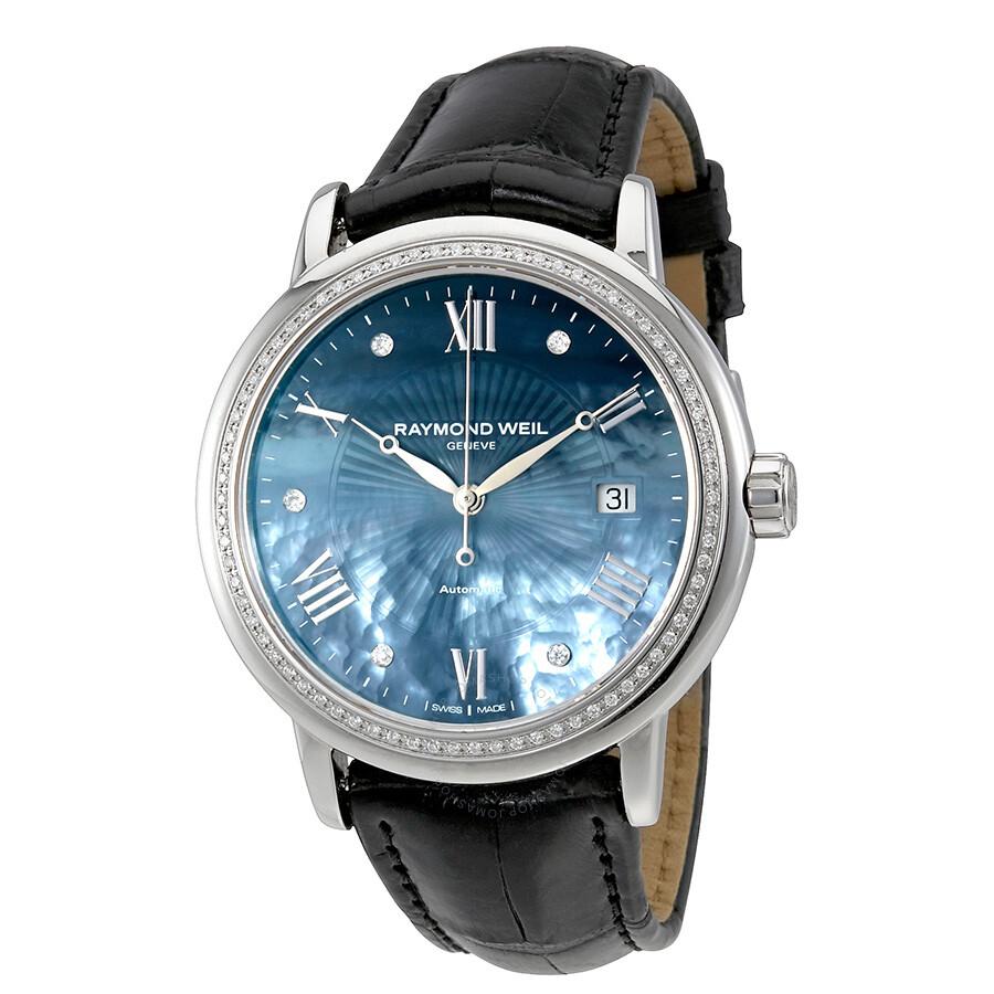 Raymond weil maestro automatic ladies watch 2837 sls 00296 maestro raymond weil watches for Raymond watches