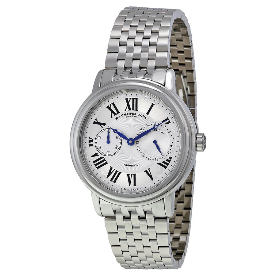raymond weil watches jomashop raymond weil maestro automatic silver dial stainless steel date men s watch