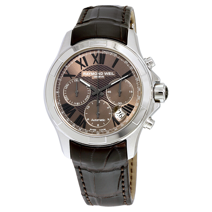 Raymond weil parsifal chronograph automatic men 39 s watch 7260 stc 00718 parsifal raymond weil for Raymond watches