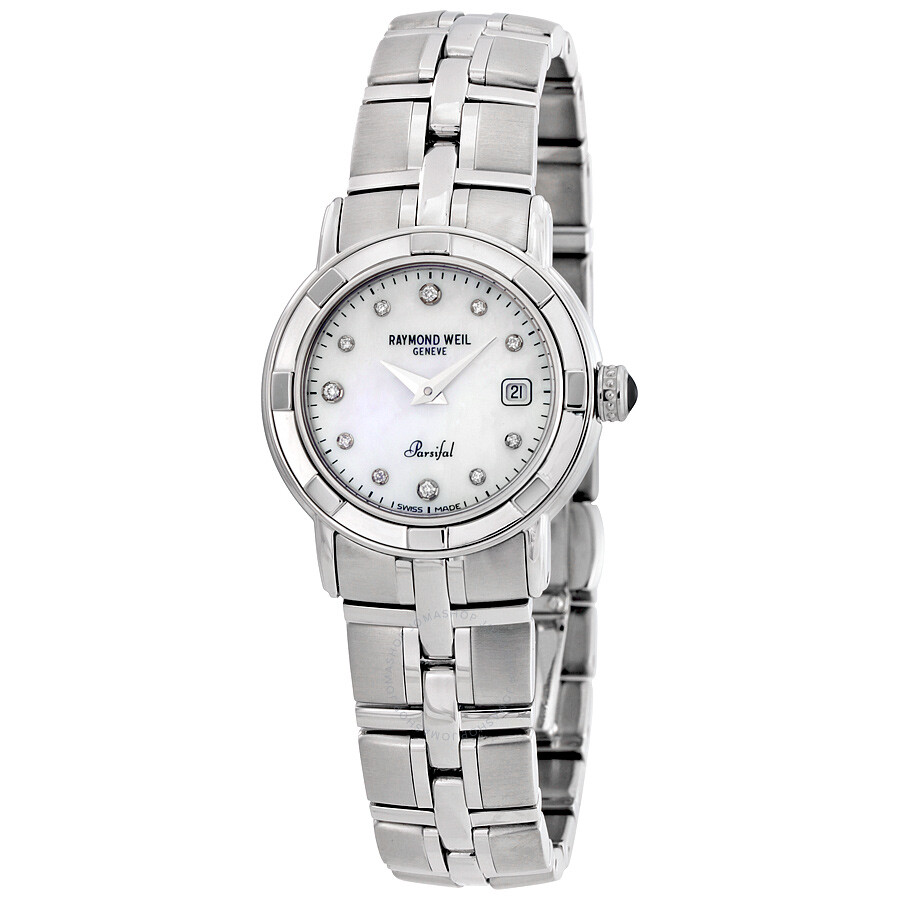 Raymond weil parsifal ladies watch 9441 st 97081 parsifal raymond weil watches jomashop for Raymond weil watch