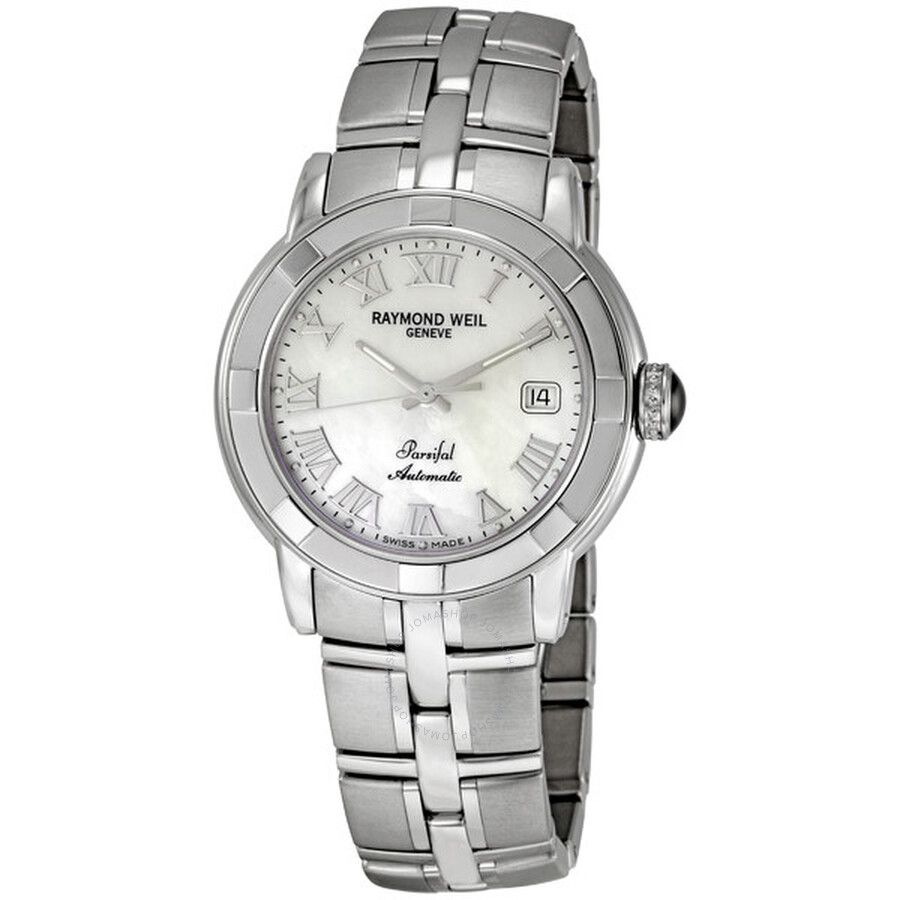 raymond weil parsifal watches jomashop raymond weil parsifal mother of pearl automatic men s watch