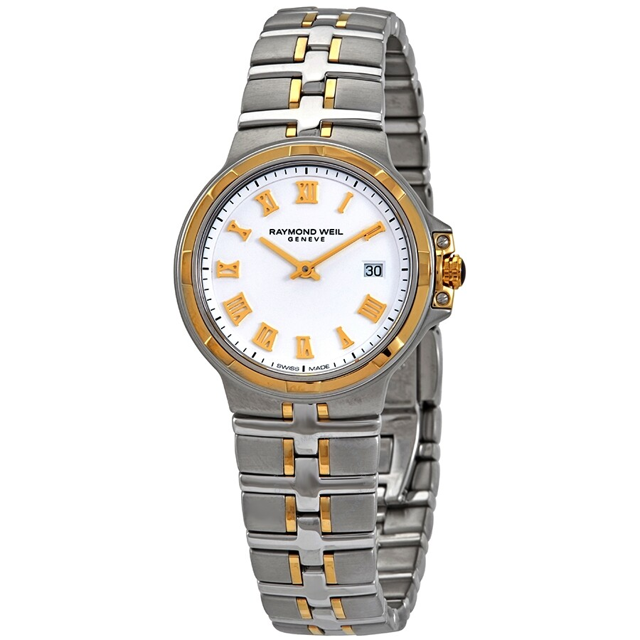 Parsifal White Dial Ladies Watch 5180-STP-00308