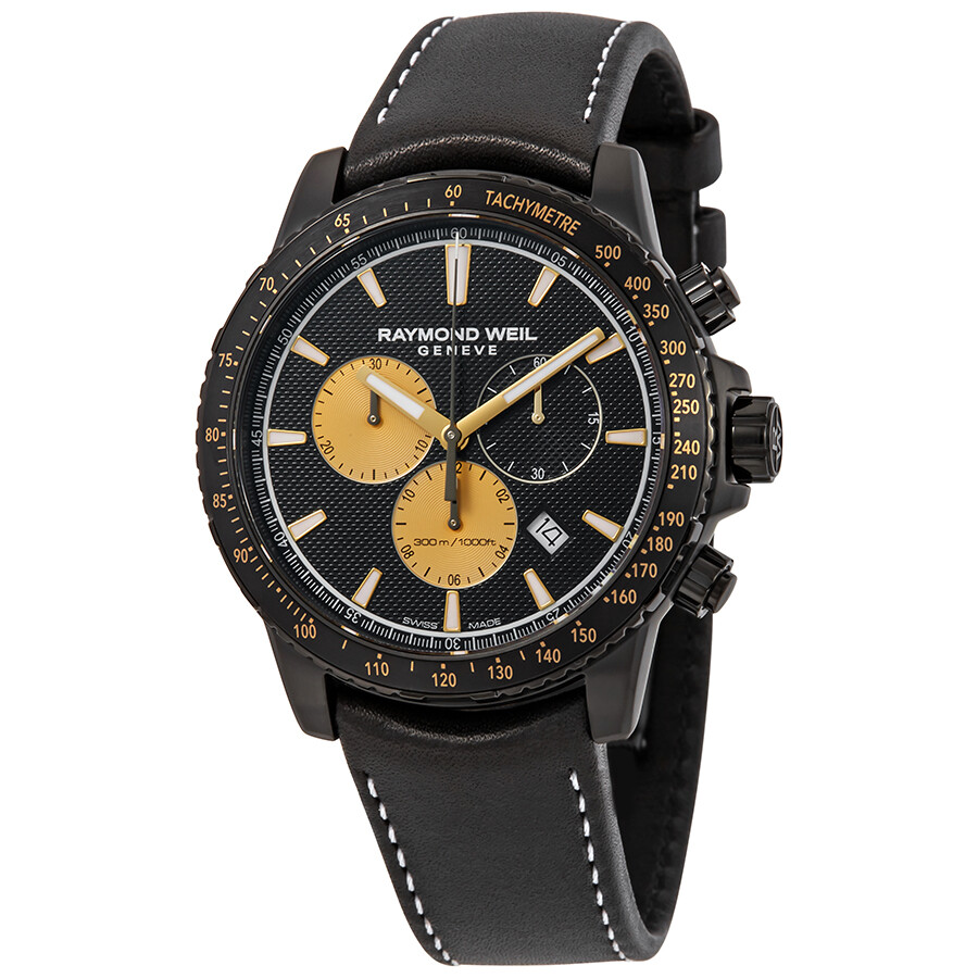 b59ad049184d8 Raymond Weil Tango Marshall Amplification Black Chronograph Dial Men s  Limited Edition Watch 8570-BKC- ...