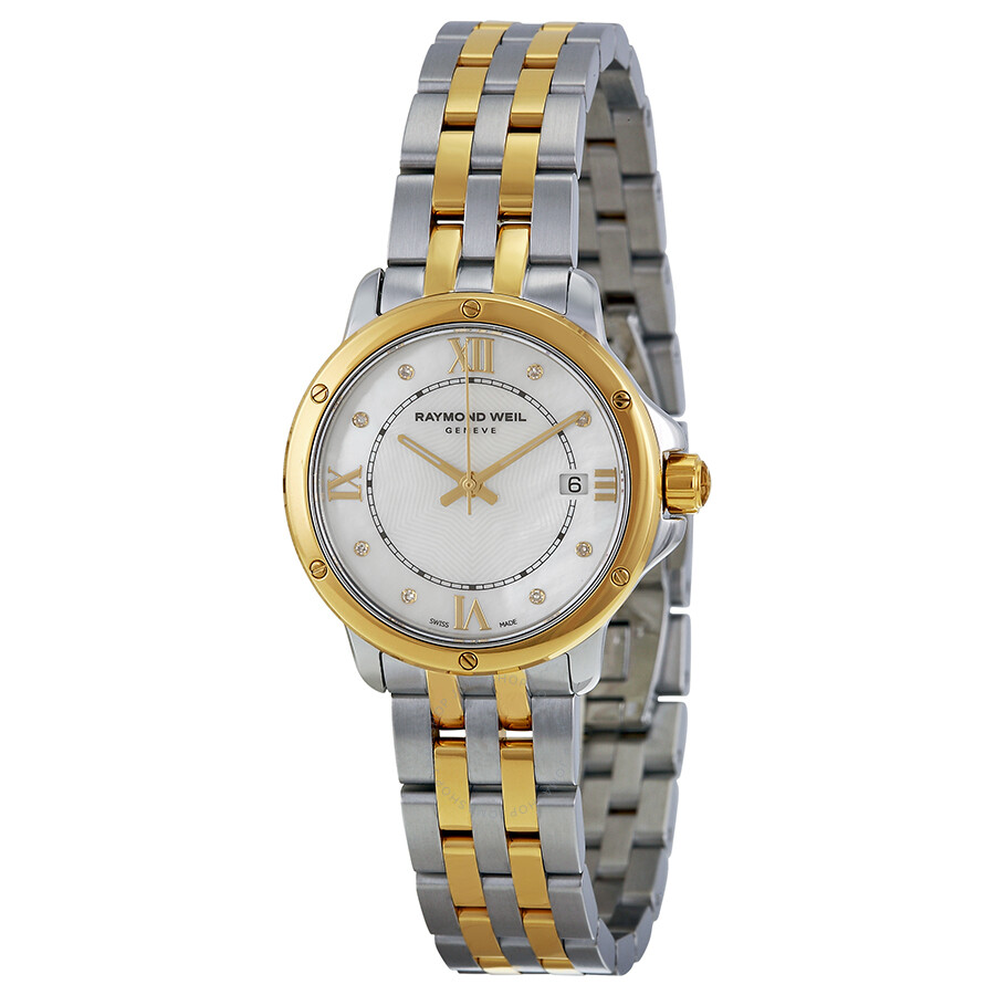 Raymond weil tango mother of pearl dial ladies watch 5391 stp 00995 tango raymond weil for Raymond weil watch