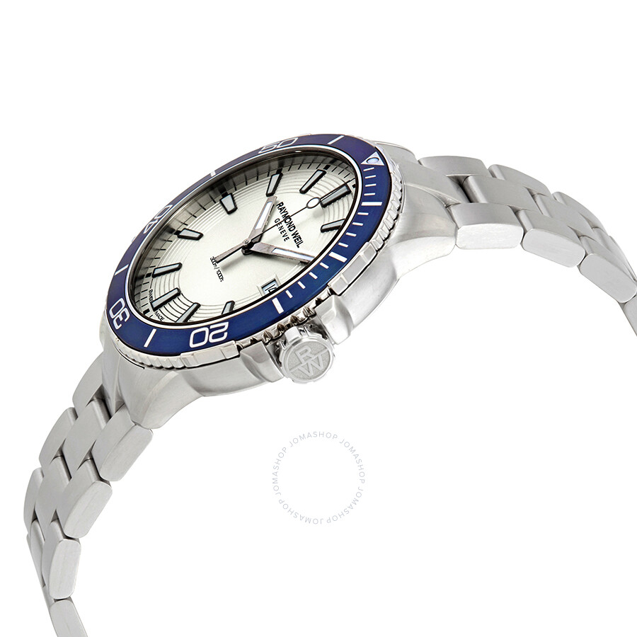 3d304ab59b5 ... Raymond Weil Tango Silver Dial Men s Stainless Steel Watch 8260-ST9-65001  ...