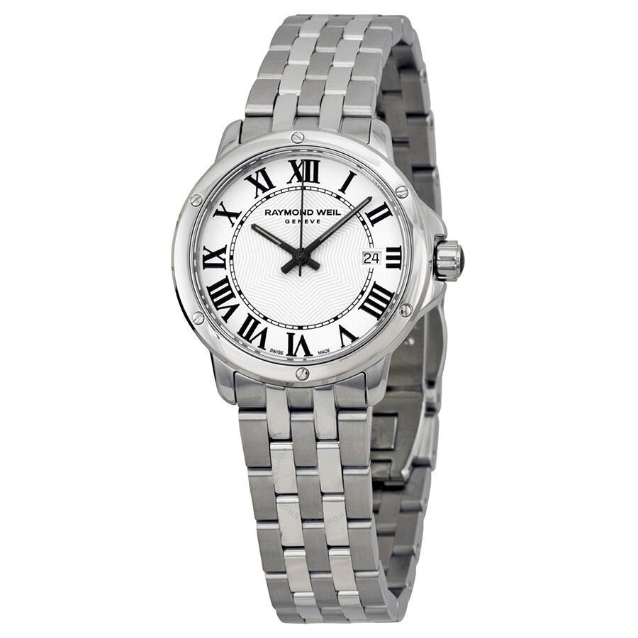 Raymond weil tango white dial ladies watch 5391 st 00300 tango raymond weil watches jomashop for Raymond weil watch