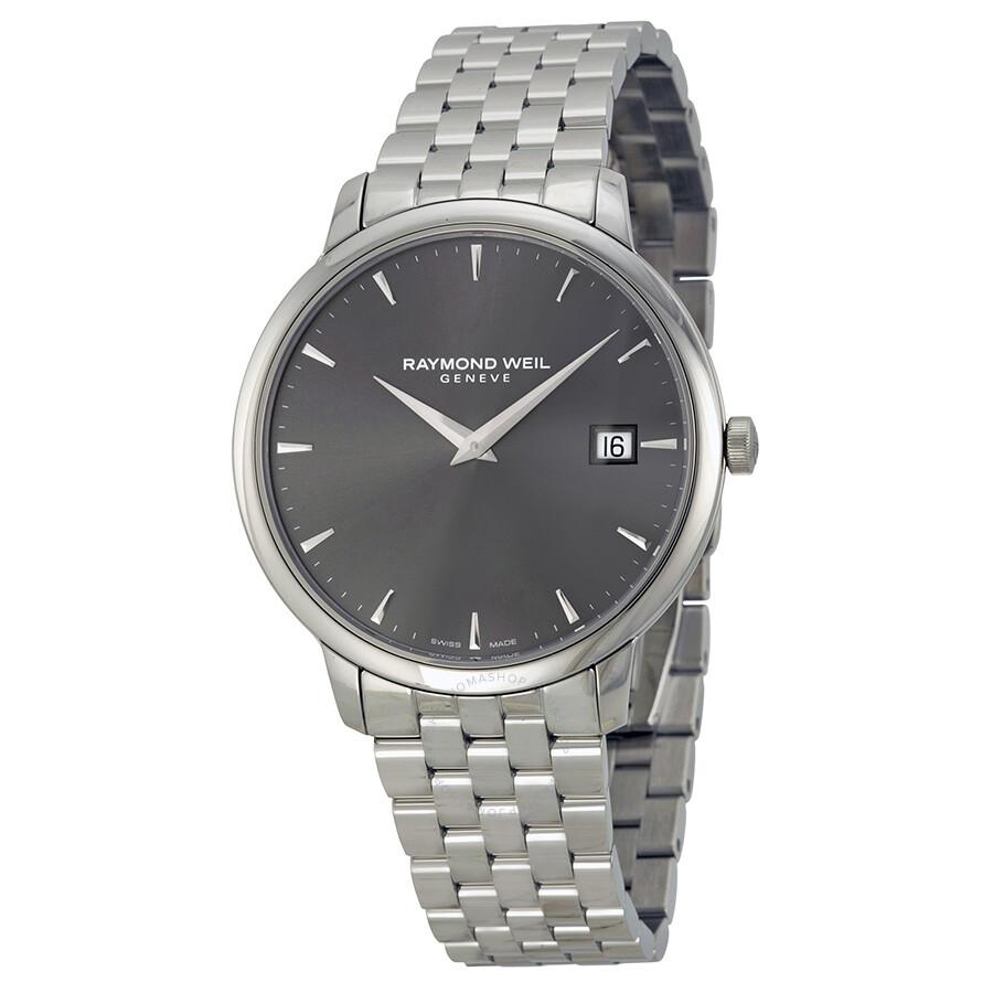 514d5a095 Raymond Weil Toccata Grey Dial Steel Bracelet Men's Watch 5588-ST-60001 ...