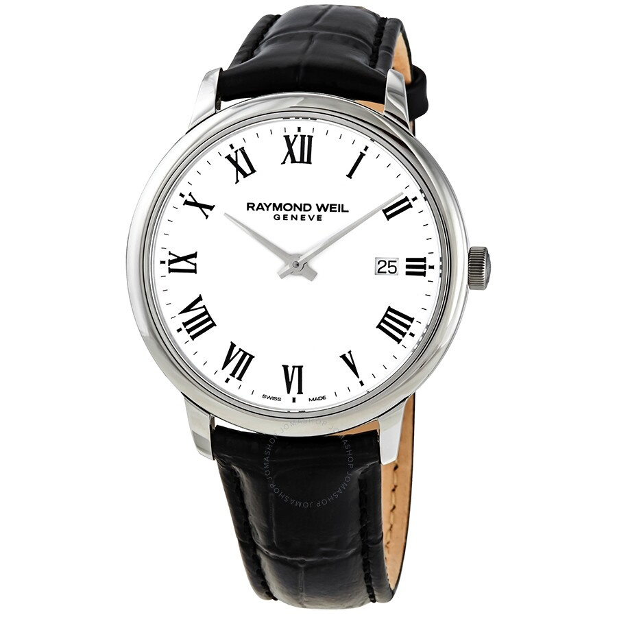Raymond Weil Toccata Quartz White Dial Men's Watch 5485-STC-00300 5485-STC- 00300