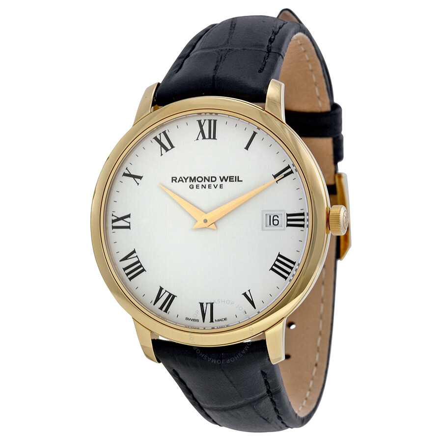 Raymond weil toccata white dial men 39 s watch 5588 pc 00300 toccata raymond weil watches for Raymond weil watch