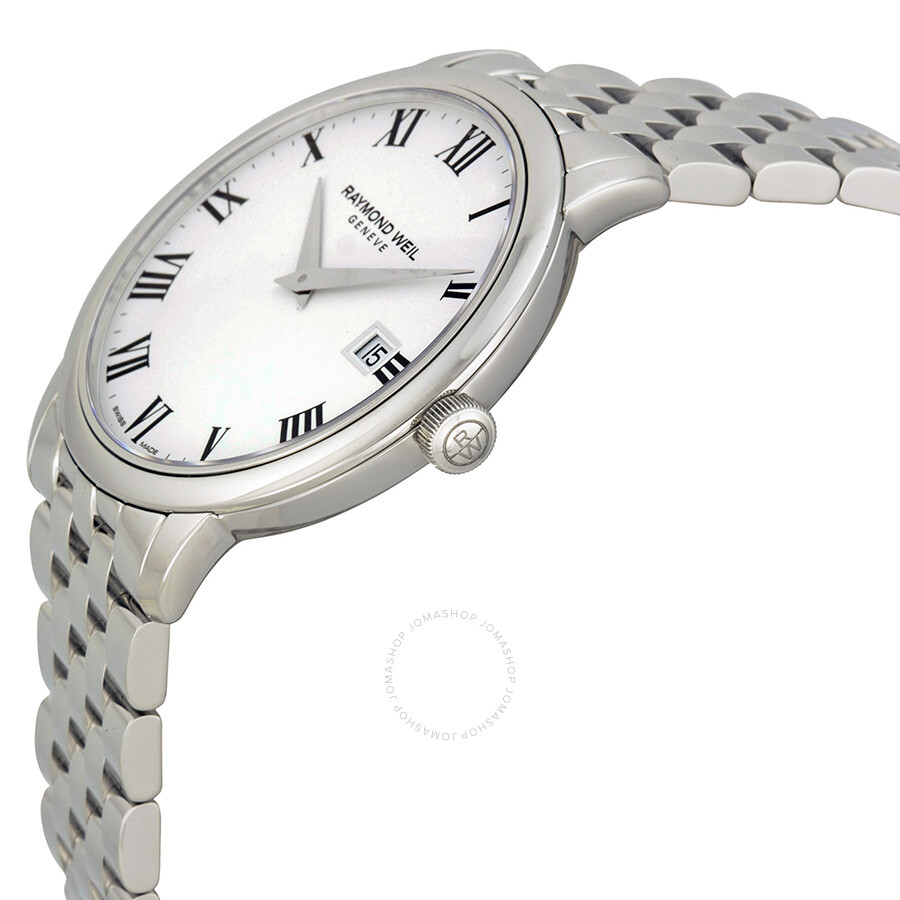 5e64df24f ... Raymond Weil Toccata White Dial Stainless Steel Men's Watch  RW-5488-ST-00300 ...