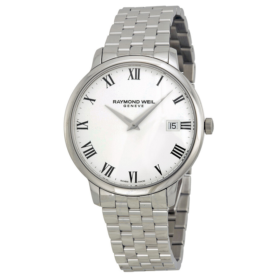 Raymond weil toccata white dial men 39 s watch 5588 st 00300 toccata raymond weil watches for Raymond watches