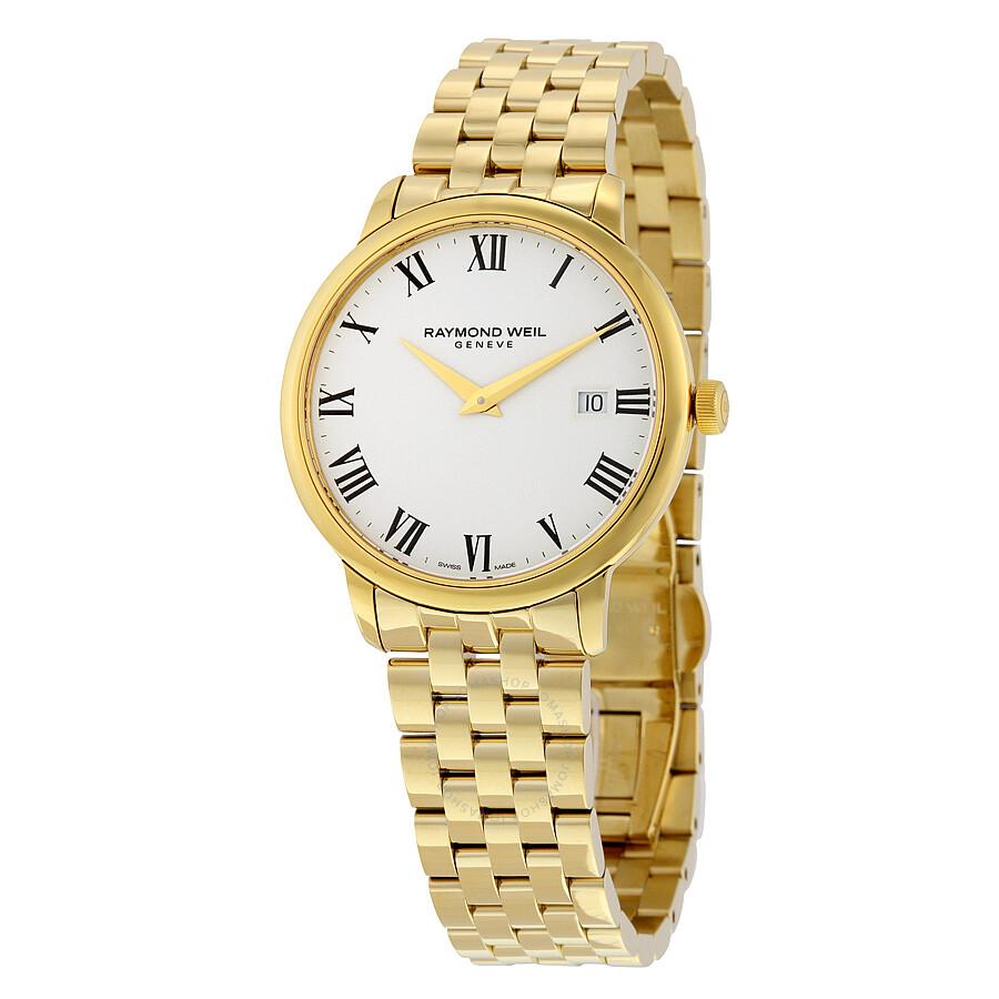 Raymond weil toccata white dial men 39 s watch 5488 p 00300 toccata raymond weil watches for Raymond watches