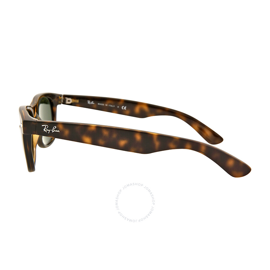 ... Ray Ban New Wayfarer Dark Tortoise Unisex 55mm Sunglasses RB2132-55-902L ...