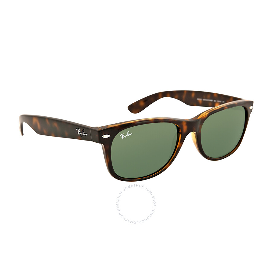 b3f02b55aef ... Ray Ban New Wayfarer Dark Tortoise Unisex 55mm Sunglasses RB2132-55-902L  ...