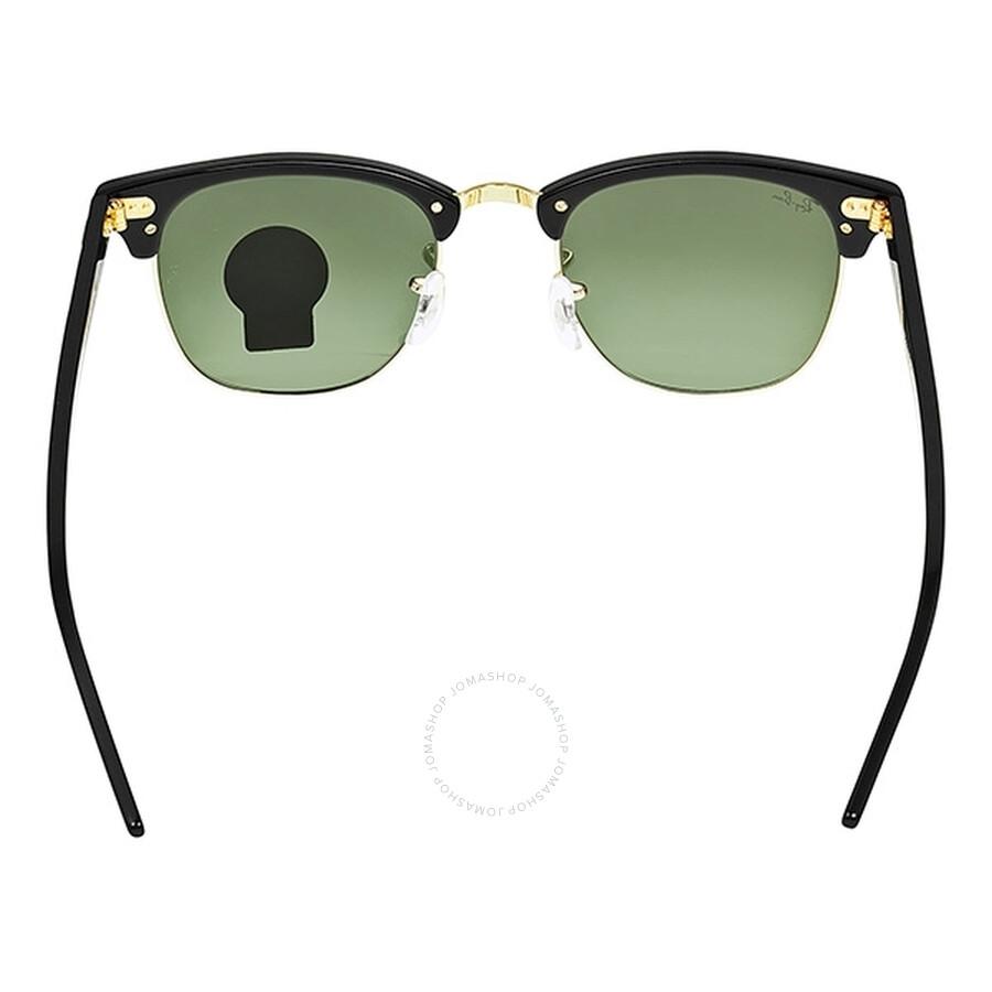 3663d3248 ... Ray-ban Clubmaster Ebony Arista Sunglasses Rb3016w0365-51 In Black ...