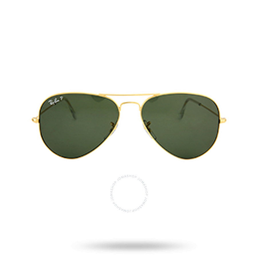 4c62b26c81 Ray Ban Aviator Green Polarized Lens 58mm Sunglasses RB3025-001 58-58 -  Aviator - Ray-Ban - Sunglasses - Jomashop