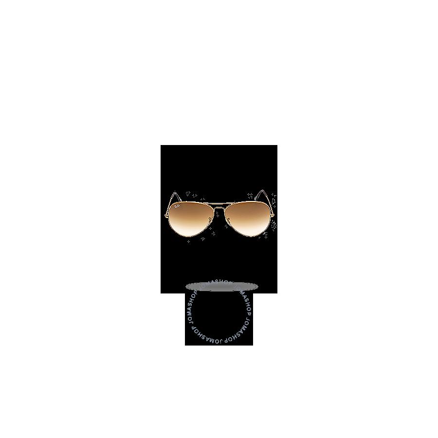 9a8b31652c0 Ray Ban Original Aviator Brown Gradient Sunglasses RB3025 001 51 62-14 -  Aviator - Ray-Ban - Sunglasses - Jomashop