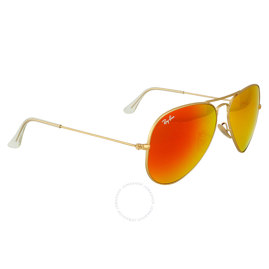e335dcb396f Ray-Ban Aviator 58mm Orange Flash Sunglasses - Aviator - Ray-Ban ...