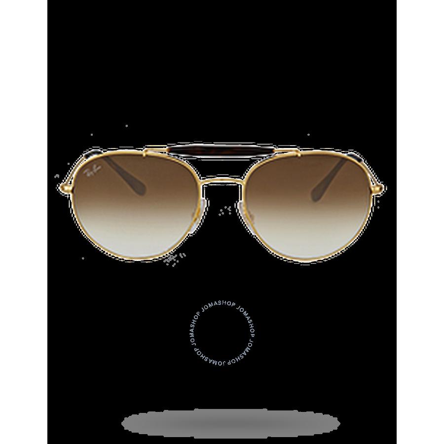 3f4df36504a Ray Ban Light Brown Gradient Metal Sunglases - Ray-Ban - Sunglasses -  Jomashop